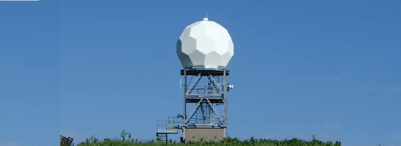 radar dish weather