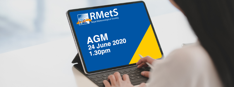 AGM details on laptop screen