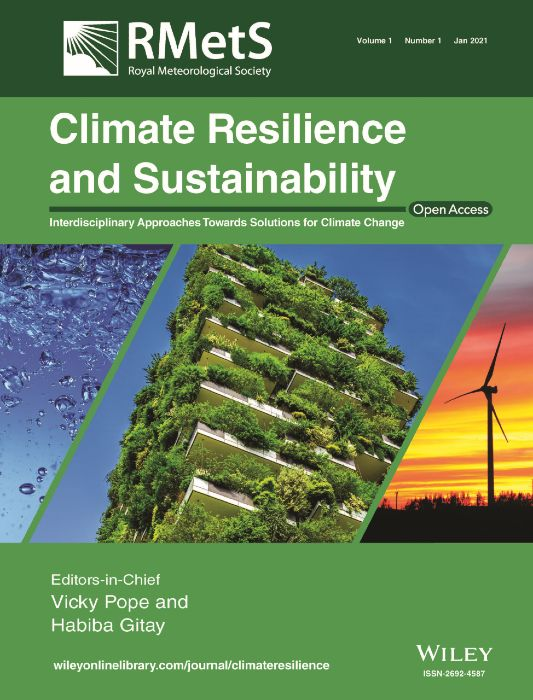 Climate Resilience and Sustainability