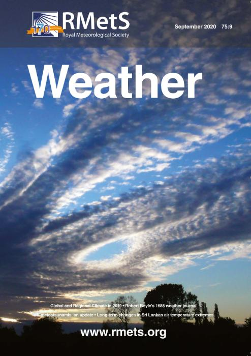 Weather September 2020 issue