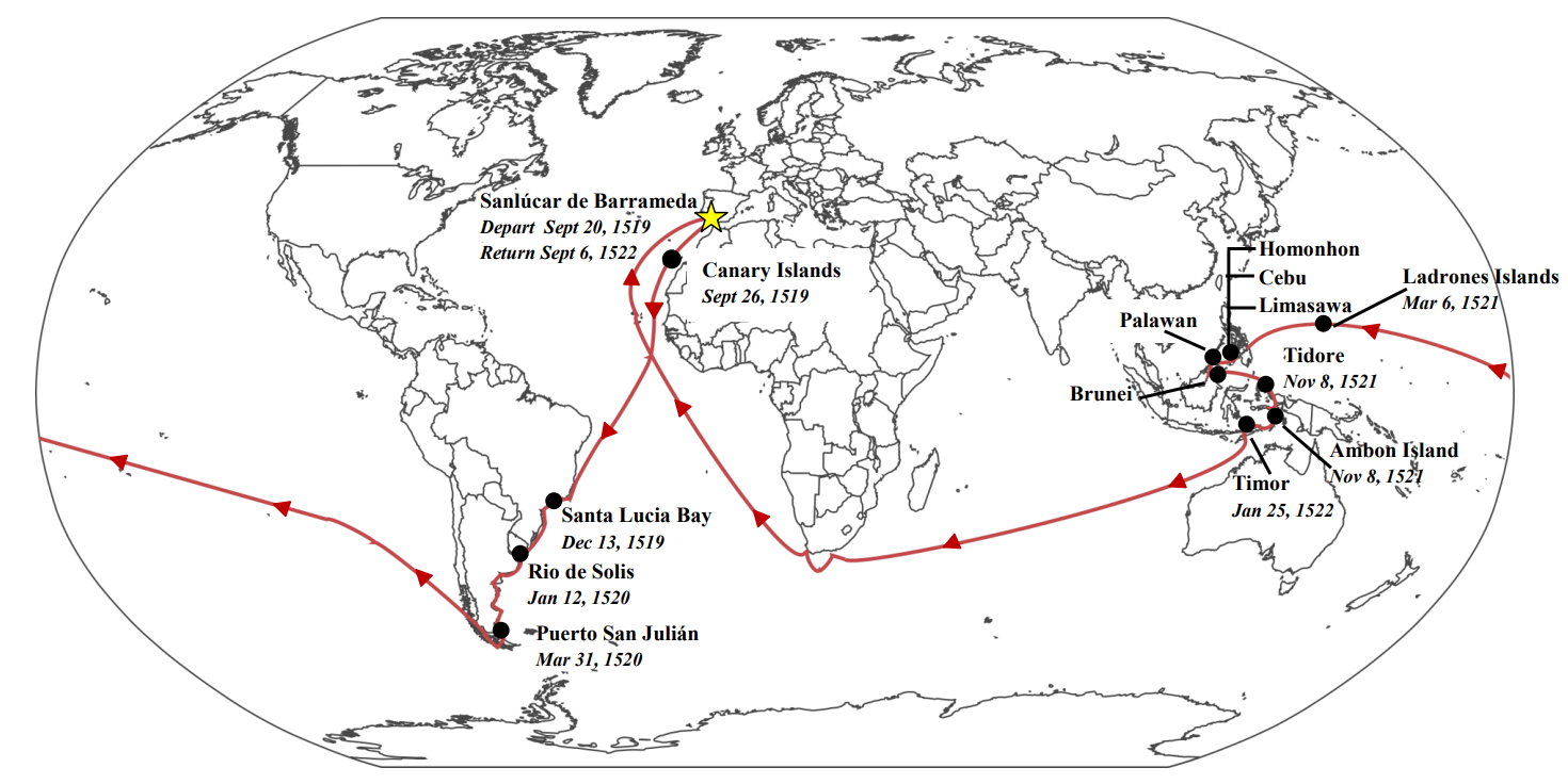 Magellan's Round-the-World Voyage