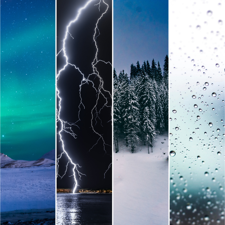 weather collage