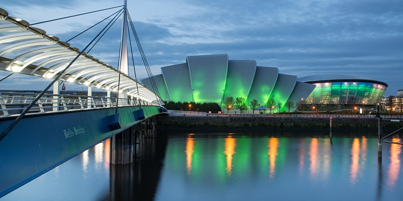 COP26 venue in Glasgow