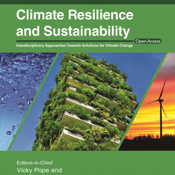 Climate Resilience and Sustainability front cover